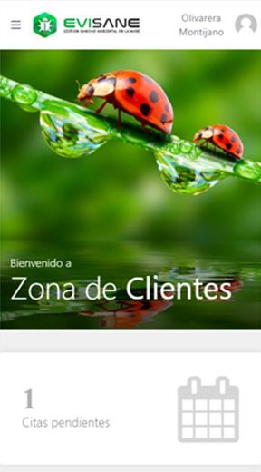 Fondo móvil zona de clientes - Software para empresas de control de plagas y sanidad ambiental