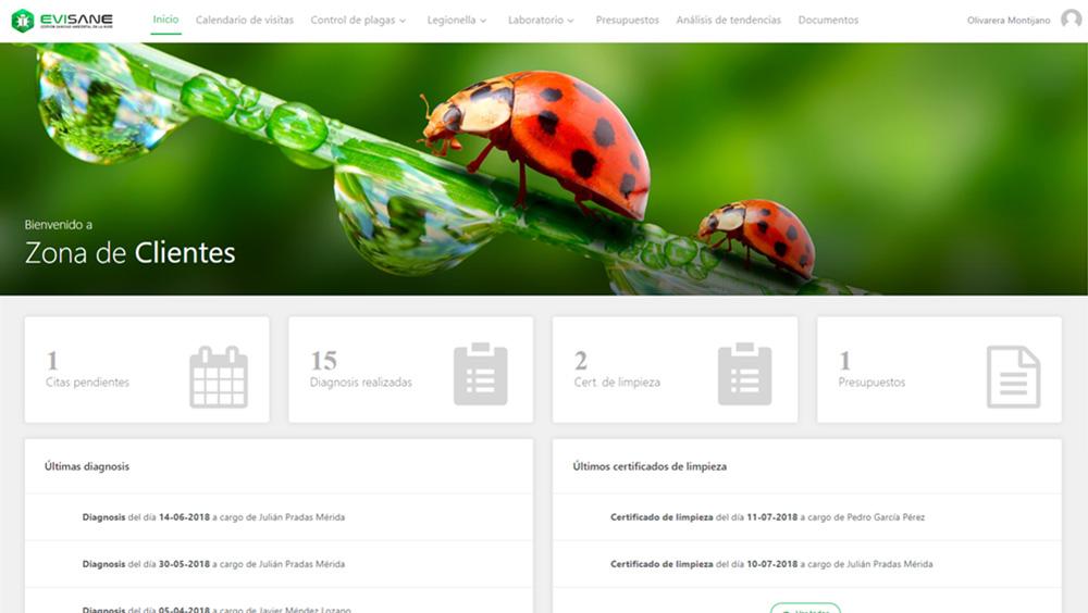 Fondo PC zona de clientes - Software para empresas de control de plagas y sanidad ambiental