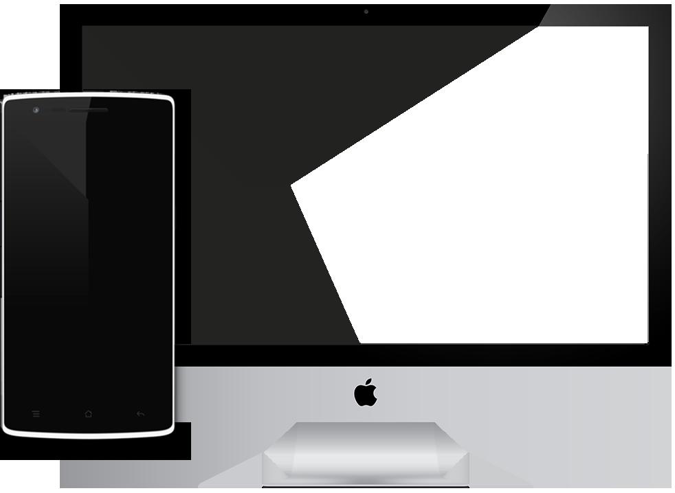 iMac y Móvil EviSane - Software para empresas de control de plagas y sanidad ambiental