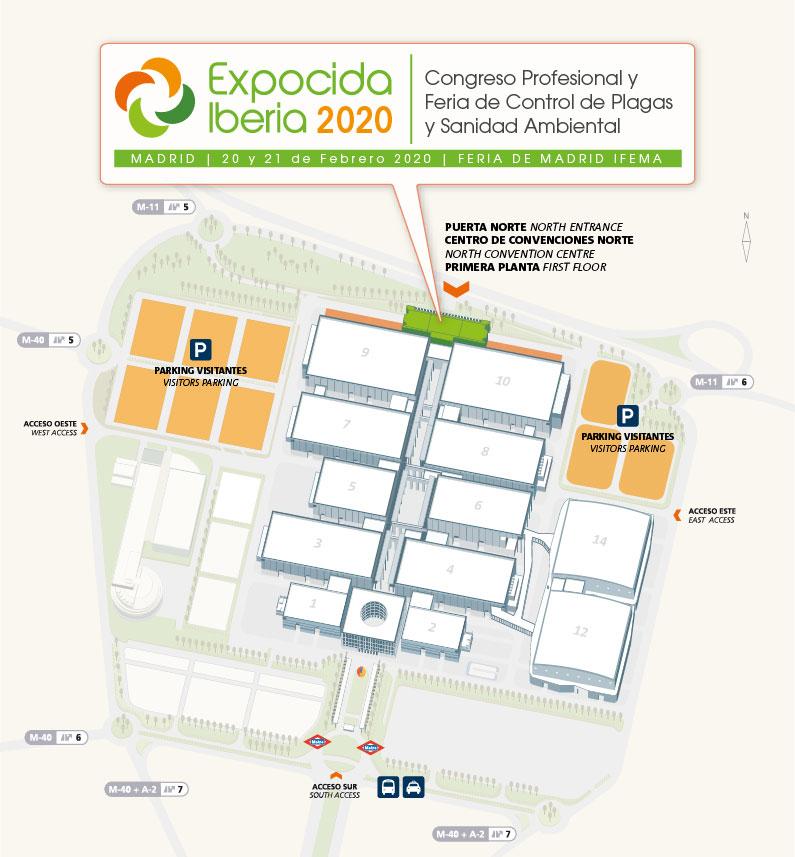 EviSane - Software para empresas de control de plagas y sanidad ambiental, presente en Expocida